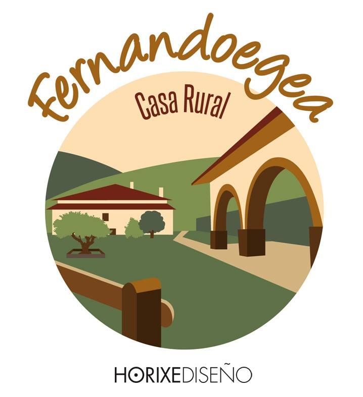 Logotipo tarjetas y folleto desplegable para la casa rural fernandoegea horixe dise o - Logo casa rural ...